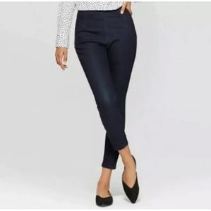 A New Day High Rise Skinny Dark Wash Denim Jeans